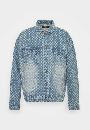 PULLED JACKET - Džínová bunda - light blue
