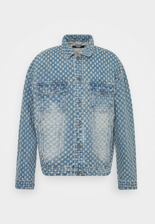 PULLED JACKET - Spijkerjas - light blue