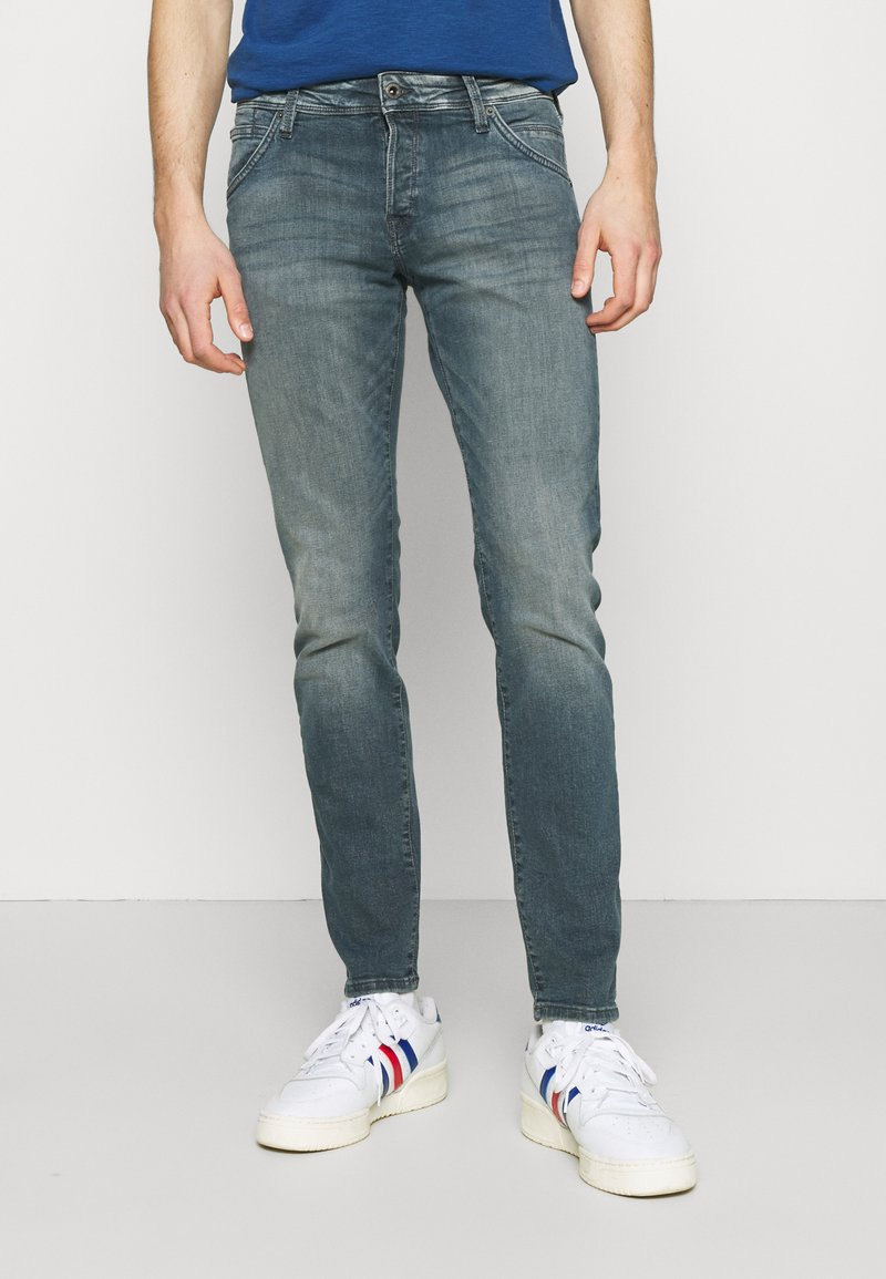 Jack & Jones - JJIGLENN JJFOX AGI - Slim fit jeans - blue denim