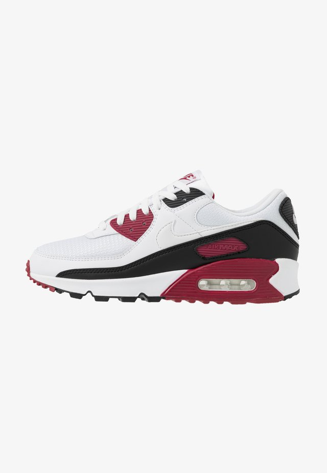 AIR MAX 90 - Baskets basses - white/chile red/black