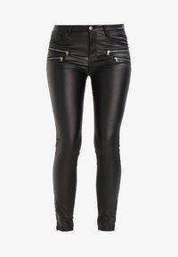 Freequent - AIDA COOPER - Trousers - black - 7