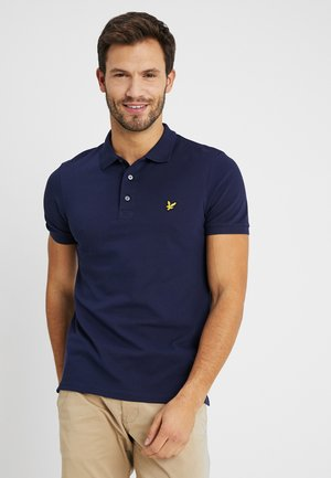 SLIM FIT - Koszulka polo - navy