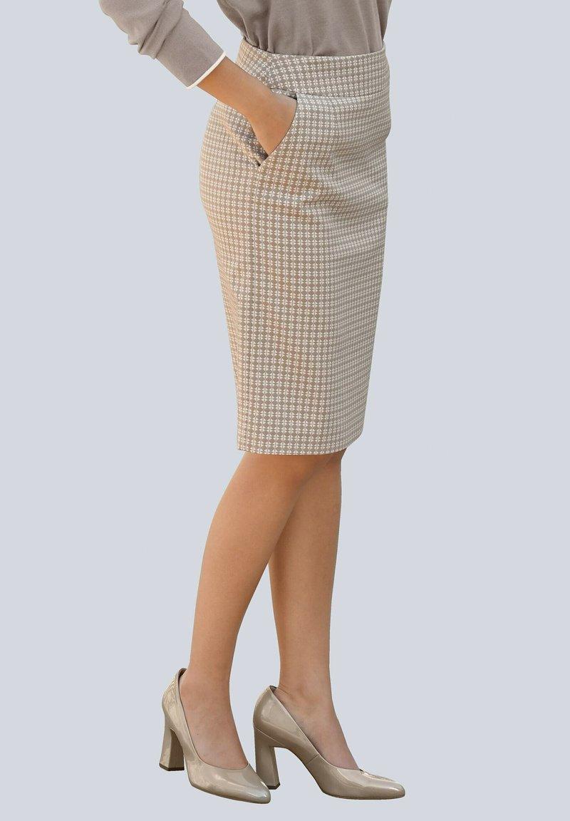 Alba Moda - Pencil skirt - beige,taupe