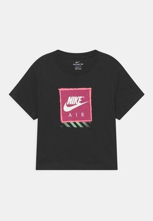 TEE AIR CROP - T-shirt print - black