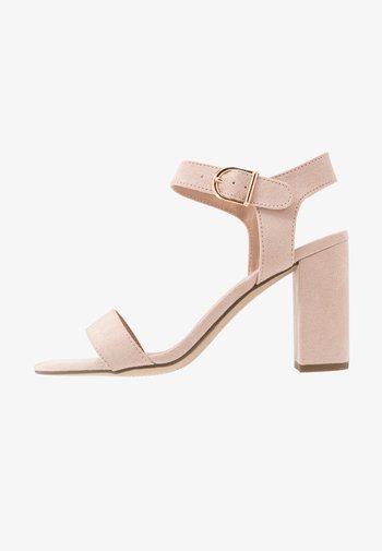 VIMS - High heeled sandals - oatmeal