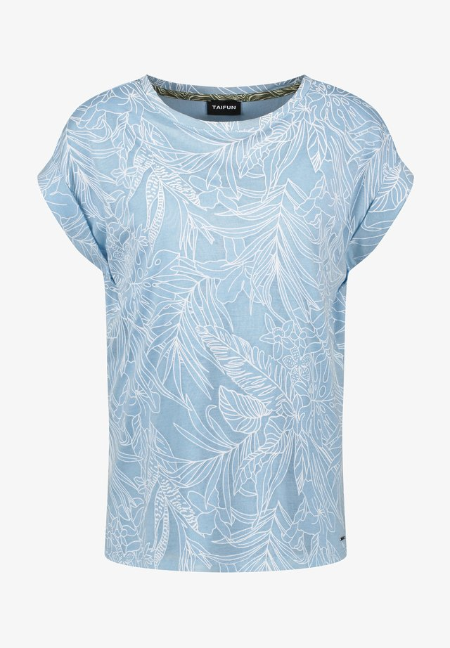 T-shirt print - blue heaven