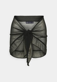 Marks & Spencer London - MINI FRILL SARONG - Beach accessory - black - 3