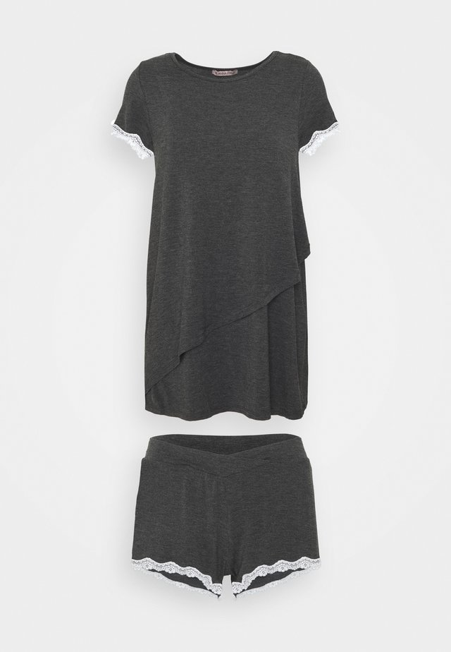 SET - Pyjama - dark grey