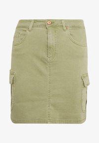 ONLMISSOURI LIFE SKIRT - Mini skirt - oil green