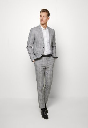 CHECKED SUIT - Kostuum - grey check