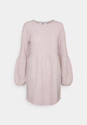 JDYBRILLIANT DRESS - Sukienka dzianinowa - nostalgia rose melange