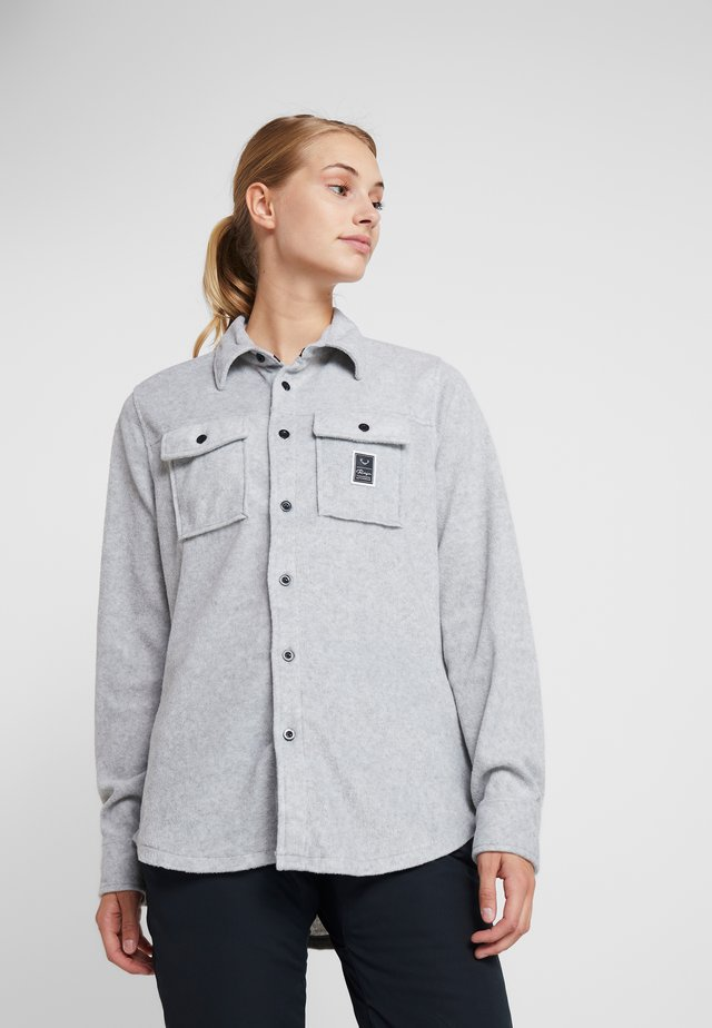MAIN STREET - Button-down blouse - alloy marle