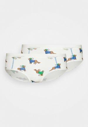 FLAT ELASTIC BOYBRIEF 2 PACK - Pants - multi