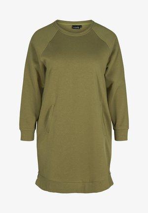Day dress - olive drab