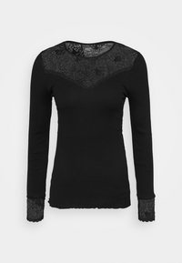 Rosemunde - Long sleeved top - black - 4