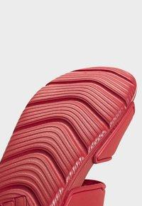 adidas Performance - ALTASWIM - Sandales de randonnée - red - 6