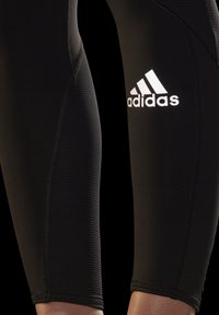 adidas Performance - 3-STRIPES SPORTS LOOSE - Tights - black - 4