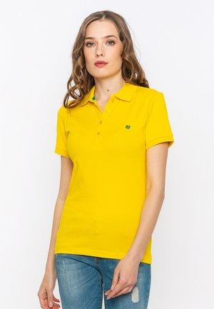 SHORT SLEEVE - Polo shirt - yellow