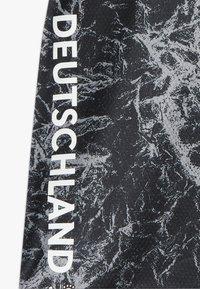 adidas Performance - DFB DEUTSCHLAND PRESHI Y - Print T-shirt - black/grey heather - 3