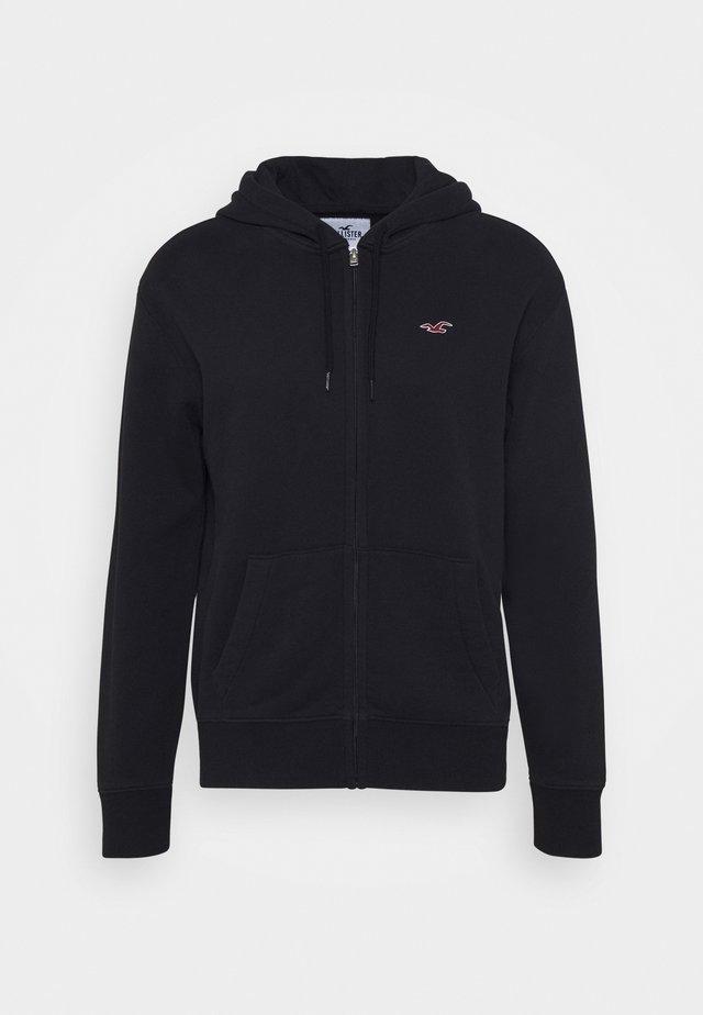 GENDERLESS ICON - veste en sweat zippée - black