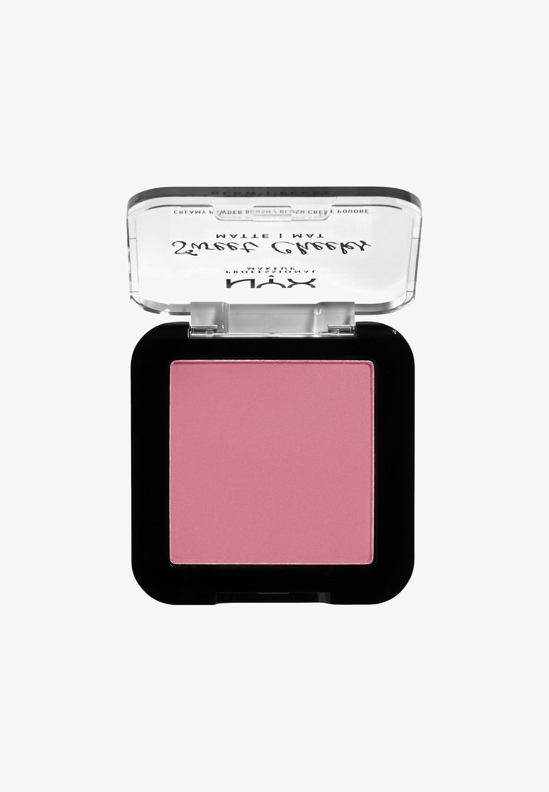 Nyx Professional Makeup - SWEET CHEEKS CREAMY POWDER BLUSH MATTE - Rouge - 08 rose & play