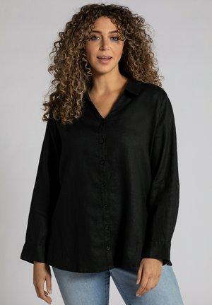 Leinen - Skjorta - noir