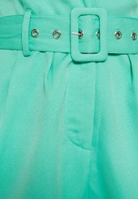 Missguided - BELTED TUX PLAYSUIT - Combinaison - green - 2
