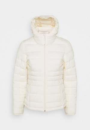 PACKABLE PUFFER POLY - Light jacket - white
