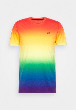 RAINBOW CREW OMBRE  - Print T-shirt - multi coloured