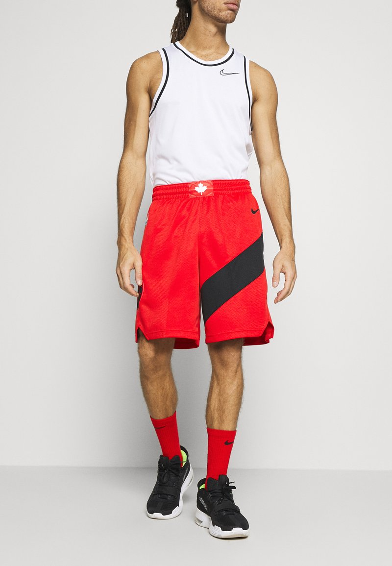 Nike Performance - NBA TORONTO RAPTORS SWINGMAN - Short de sport - university red
