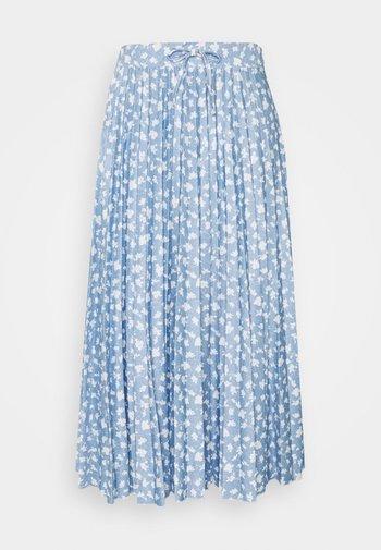 PER PLISSEE  - Áčková sukně - light blue