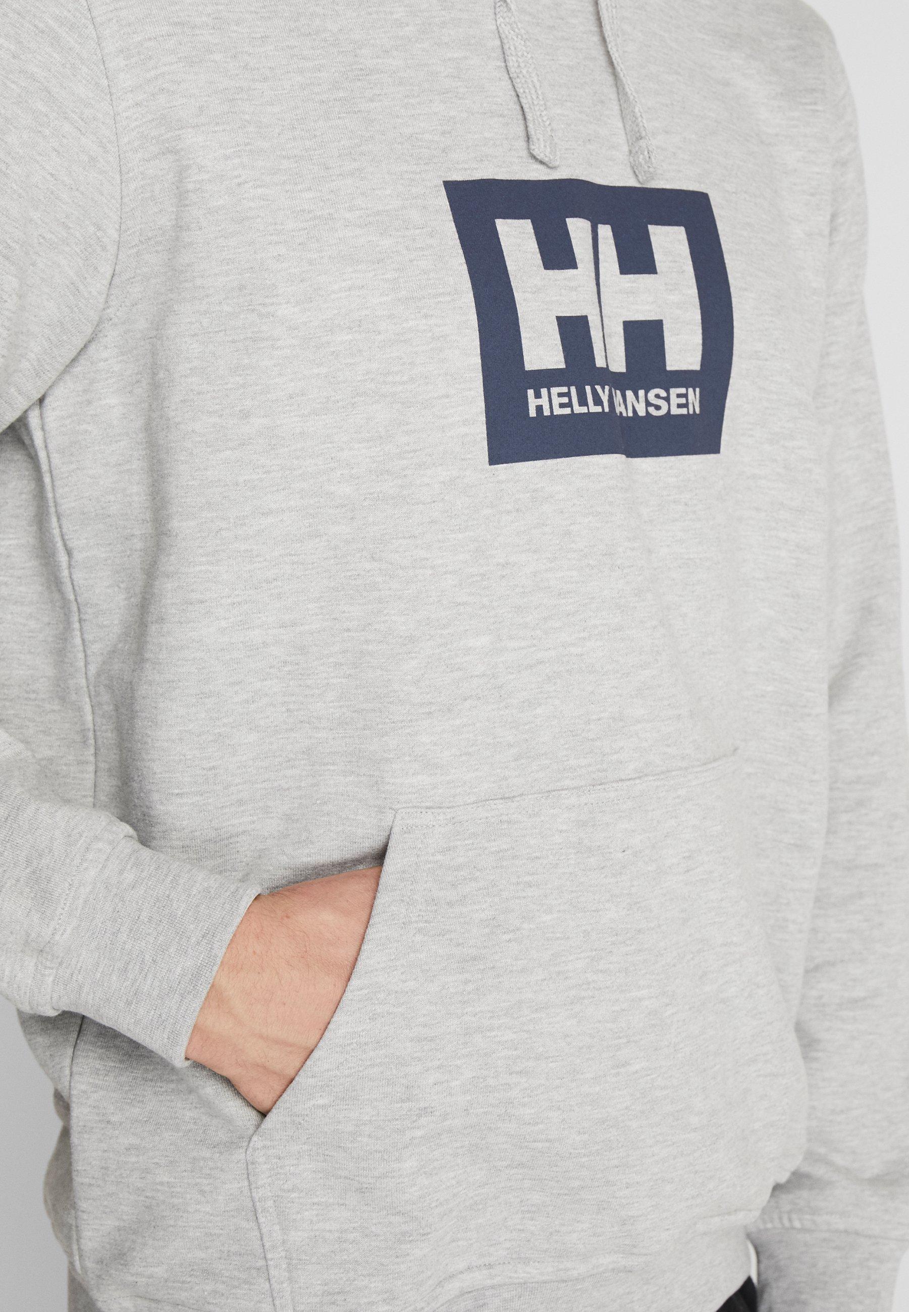 Helly Hansen TOKYO HOODIE - Sweat à capuche - grey melange