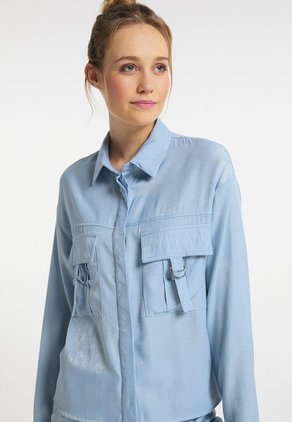 DreiMaster Koszula - hellblau/jasnoniebieski RADJ