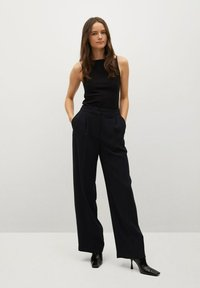 Mango - OHIO - Trousers - zwart - 1