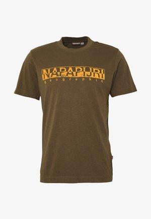 SOLANOS - Print T-shirt - green way