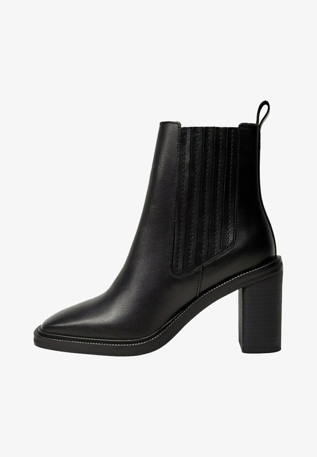 BACK - Ankle boots - schwarz
