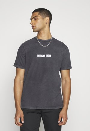 SUNDRY SMOOTH - T-shirt z nadrukiem - haze grey
