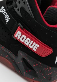 Ewing - ROGUE DEATH ROW - High-top trainers - black/chinese red/white - 5