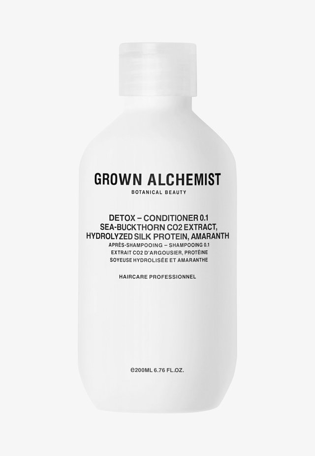 DETOX - CONDITIONER 0.1 SEA-BUCKTHORN CO2 EXTRACT, HYDROLIZED SILK PROTEIN, AMARANTH - Balsamo - -