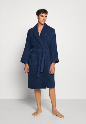 ORGANIC BATHROBE - Dressing gown - yankee blue