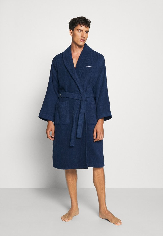 ORGANIC BATHROBE - Badekåpe - yankee blue