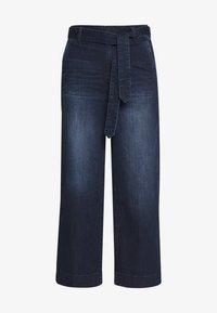 DENIM CULOTTE - Flared Jeans - blue