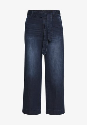 DENIM CULOTTE - Flared Jeans - blue