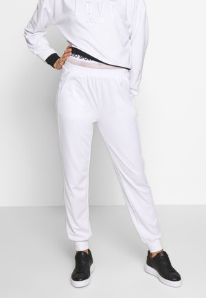 PANT - Teplákové kalhoty - bianco ottico