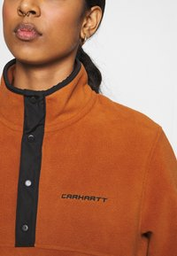 Carhartt WIP - Sweat polaire - cinnamon/black - 4
