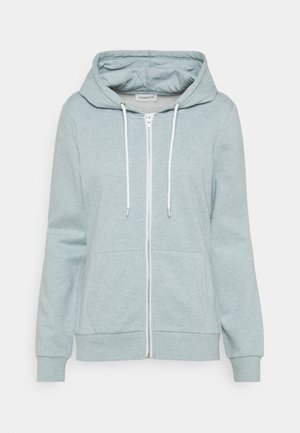 Regular Fit Zip Sweat Jacket Contrast Cord - Hoodie met rits - blue
