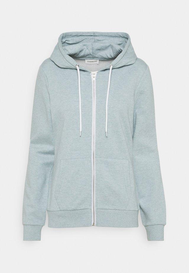 Regular Fit Zip Sweat Jacket Contrast Cord - Zip-up hoodie - blue