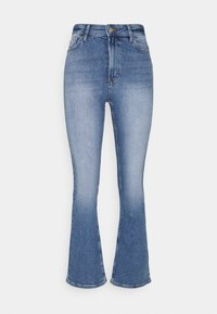 ONLCHARLIE LIFE - Flared Jeans - medium blue denim