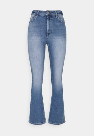 ONLCHARLIE LIFE - Flared Jeans - medium blue denim