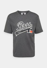 BOSS - BOSS X RUSSELL ATHLETIC - T-Shirt print - medium grey - 4